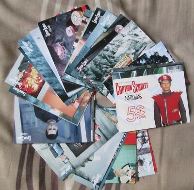 CAPTAIN SCARLET 50 Years BASE SET Unstoppable Trading Cards 2018 GERRY ANDERSON