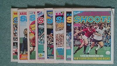Shoot Magazine 1977 January and February 8 issues