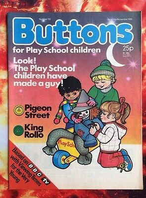 Buttons Comic No.110. 5 November 1983 Unread, Unsold Newsagents Stock. Nrmint