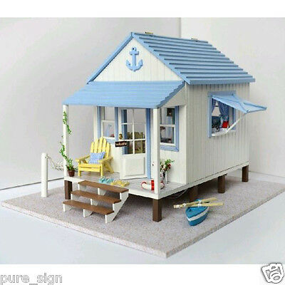 DIY Handcraft Miniature Project Kit Wooden Dolls House Music The Happiness Coast