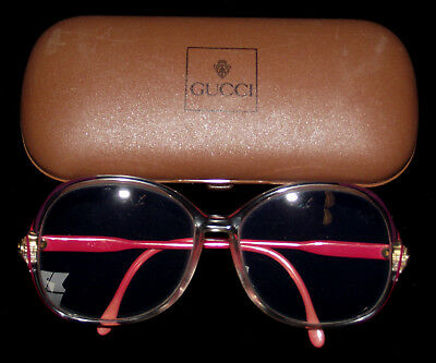VINTAGE 1980s GUCCI GLASSES IN ORIGINAL HARD CASE