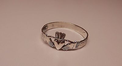 Napkin Ring with a ( Claddagh) Sterling Silver