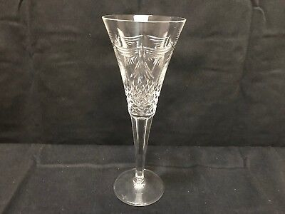 """Waterford Crystal ~ The Millennium Collection ~ """"PEACE""""  Toasting Flute ~ 9 1/4"""""""