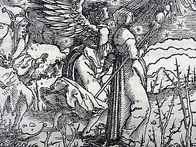 1532 Master of Petrach - Hans Weiditz woodcut - Of a lack of Honour - Jealousy