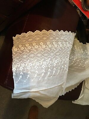 Beautiful Victorian /Edwardian.Lace. Approx 6 ft in length.