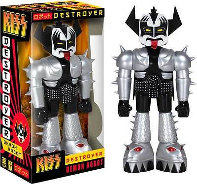"Kiss - The Demon 11"" Vinyl Invaders Robot NEW IN BOX"