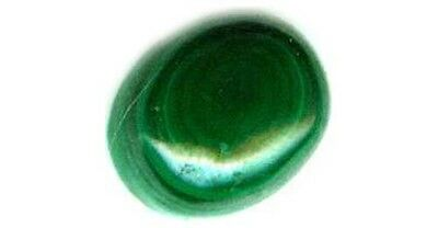 18thC Antique 4ct Malachite Ancient Talisman Sorcery Danger Disease Protection