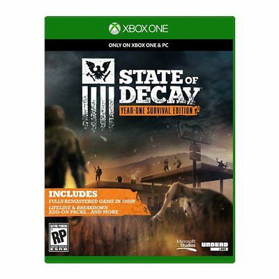 State of Decay - Year-One Survival Edition [Microsoft Xbox One XB1 Zombies] NEW