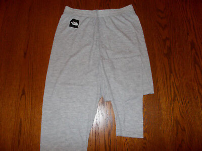 The North Face Gray Thermal Long Underwear Womens Large Excellent Condition