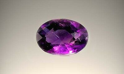 Handcrafted 3½ct Scotland Amethyst Ancient Egypt Abydos Pharaoh Djer 3000BC Gem
