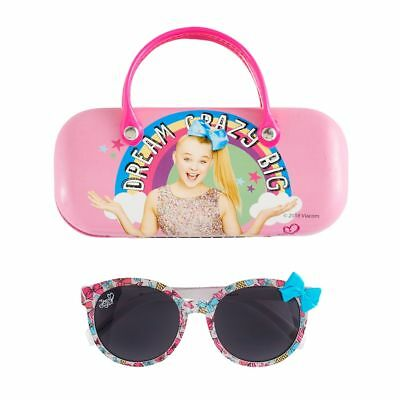 Jojo Siwa Signature Bow Sunglasses With Carrying Case Dream Crazy Big New