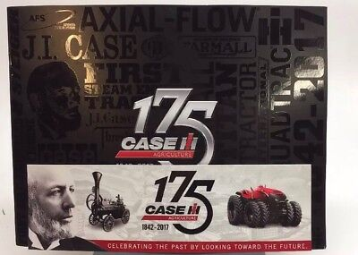 CASE IH Agriculture 175 Years History Brochure Booklet & Sticker 1842-2017