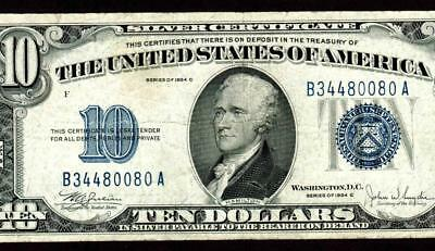 $10 1934C Silver Certificates **MORE CURRENCY FOR SALE**