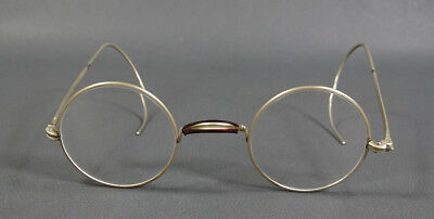 1920s ANTIQUE PHYSICIAN'S DOCTOR'S EYEGLASSES SPECTACLES WIRE TEMPLE
