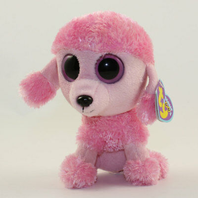 8932527147c TY BEANIE BOOS ~ PRINCESS the Pink Poodle Dog (Purple Heart Tag)(6 ...