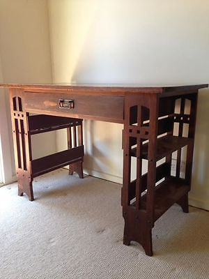 Arts And Crafts /mission Style Desk Rarely Seen