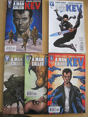 A MAN CALLED KEV : COMPLETE 5 ISSUE SERIES by ENNIS & EZQUERRA. AUTHORITY. 2006