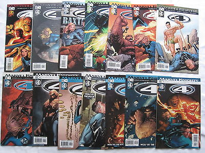"""FANTASTIC FOUR """"4"""":COMPLETE 30 ISSUE 2004 MARVEL KNIGHTS SERIESby AGUIRRE-SACASA"""