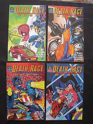DEATH RACE 2020 : COMPLETE 4 ISSUE SERIES by MILLS,O'NEILL.EXPLICIT CONTENT.1995