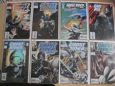 Ghost Rider 2099 : COMPLETE RUN issues 1 - 8 by KAMINSKI,BACHALO,BUCKINGHAM.1994