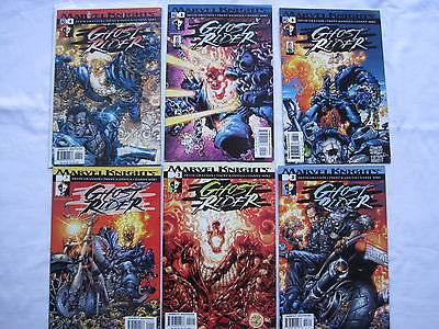 GHOST RIDER : COMPLETE 6 ISSUE 2001 MARVEL KNIGHTS SERIES by GRAYSON & KANIUGA