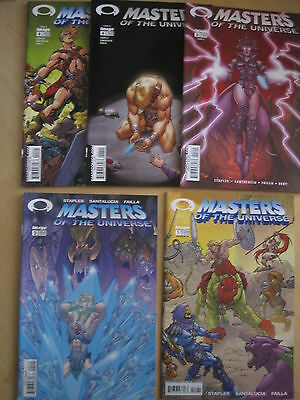 MASTERS of the UNIVERSE :COMPLETE 4 ISSUE SERIES + #4 VARIANT.HE MAN.IMAGE. 2002