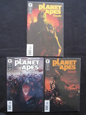 PLANET of the APES : The HUMAN WAR : COMPLETE 3 ISSUE SERIES.FOIL CVR #2.DH.2001
