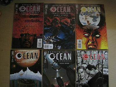 OCEAN : COMPLETE CLASSIC 6 ISSUE SERIES by WARREN ELLIS,SPROUSE. WILDSTORM. 2004