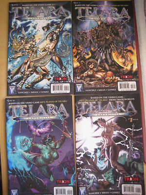 Telara Chronicles - Complete 4 Issue Mini Series. As Video Game. Trion. 2010