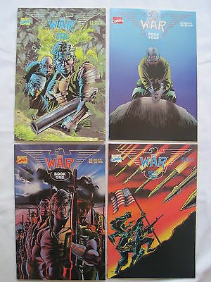 The WAR : COMPLETE 4 ISSUE PRESTIGE SERIES.. MARVEL . 1989