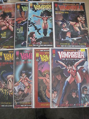 "VAMPIRELLA 13 - 20 : ""The MYSTERY WALK"" COMPLETE 8 ISSUE STORY. HARRIS.1995"