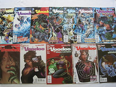 Voodoo : Complete 12 Issue Series.1,2,3,4,5,6,7,8,9,10,11,12. Dc The New 52.2012