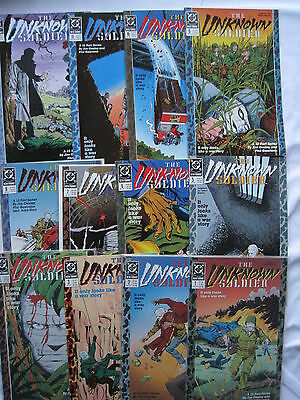 UNKNOWN SOLDIER : COMPLETE 12 issue series by JIM OWSLEY & PHIL GASCOINE.DC 1988