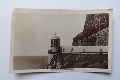 Vintage Irish R/P Card - Tearaght Rock Lighthouse -Kerry - Unposted - 1926