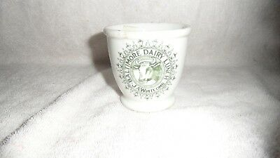 """Vintage Restaurant Ware-Baltimore Dairy Lunch J.a. Whitcomb Cup Jackson China 3"""""""