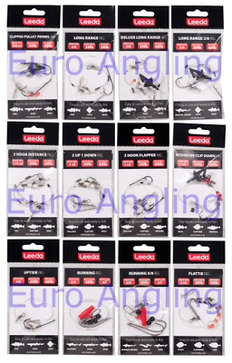 Leeda Sea Fishing Ready Made Rigs - Pack of 5 - All Styles