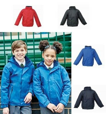 REGATTA KIDS DOVER Waterproof Insulated Jacket - Fleece Lined, Many Colours