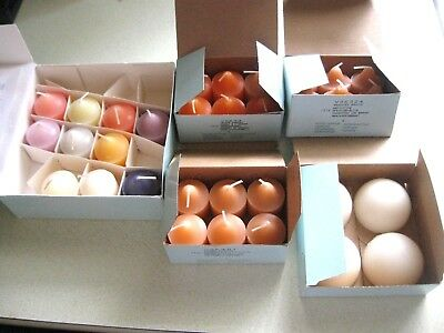 Collectible Partylite Lot 32  Scented Votive Candles Aroma Melts