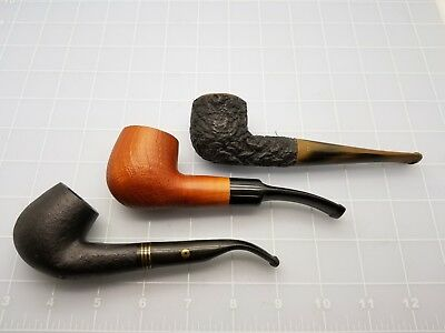 Judd's Lot of 3 Nice Old Pipes