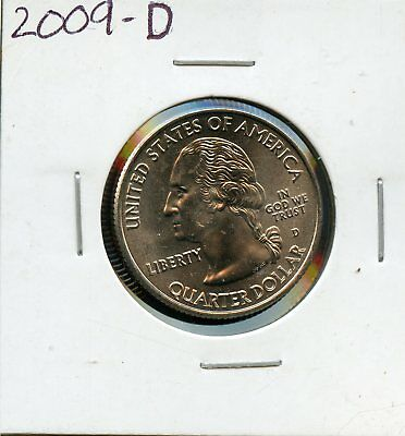2009-D Uncirculated United States Washington Quarter - U.S. Virgin Islands BR78