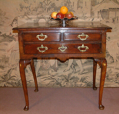 Early 18th Century Walnut Lowboy, side table dating from c 1720.