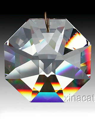Strass Swarovski Huge 8115-60mm Lily Octagon Crystal Clear Prism Suncatcher 2.5""