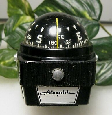 Vintage Airguide Compass Works Great Car Boat Navigation