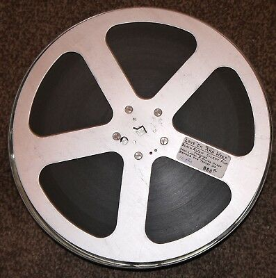 One Reel;  B/w Silent 16Mm Film  Of Love'em And Leave Weep Laural &hardy