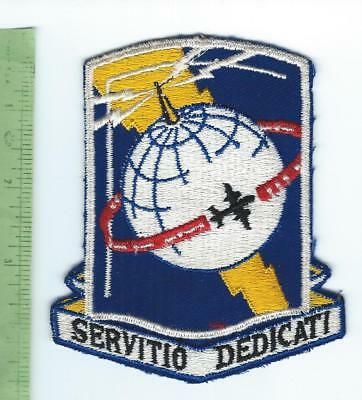Army Airways Communication System patch embroidered on twill 1950's