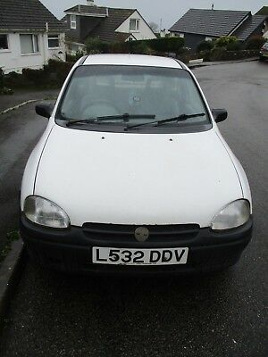 Vauxhall Corsa 1.5D Merit 3 Door Hatchback Diesel 1994 Used Daily