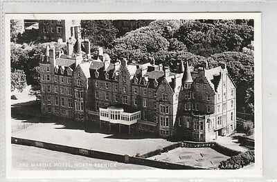The Marine Hotel North Berwick East Lothian Aerial View Real Photograph Aerofilm