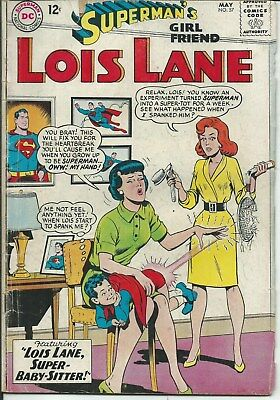 No Reserve Sale! Lois Lane No. 57 (1965) In Good Condition
