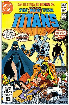 NEW TEEN TITANS #2 NM, 1st DEATHSTROKE the Terminator UK Edition DC Comics 1980