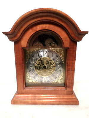 Double Chime Moon Dial Howard Miller Bracket Clock